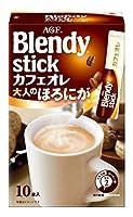 AGF ブレンディ スティック カフェオレ 大人のほろにが 10本×6個 【 スティックコーヒー 】