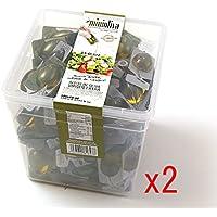 (2ユニット) Alcalaolivia オリーブオイル使い切りパック 14mlx100パック Mini Oliva Extra Virgin Olive Oil