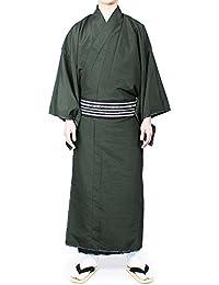 (オオキニ)大喜賑 着物 男性 洗える着物 紬 袷 着物 普段着