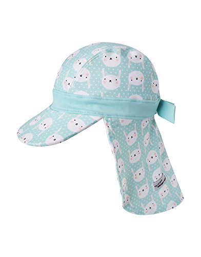 Vaenait Babyベビー 子供水着日焼け予防UVカットフラップキャップ帽子 UV Flapca...