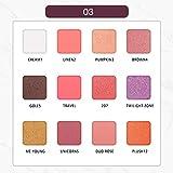 Symboat 12色マーブルアイシャドウトレイ アイシャドウ パレット マット アイシャドウ 化粧パレット 高発色 人気 韓国風 自然立体 携帯便利 長持ち 極め細かい