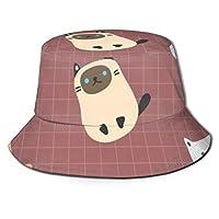 バケットハット キャップ 帽子 ハット 多種の猫 Uv帽 スポーツ帽子 小顔効果 UVカット つば広 ハット 折りたたみ 男女兼用 登山 釣り ゴルフ 運転 アウトドア ハイキング レディース メンズ