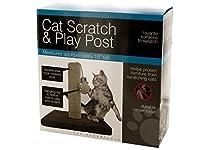Bulk Buys Fun Interactive Play Cat Scratch & Play Post [並行輸入品]