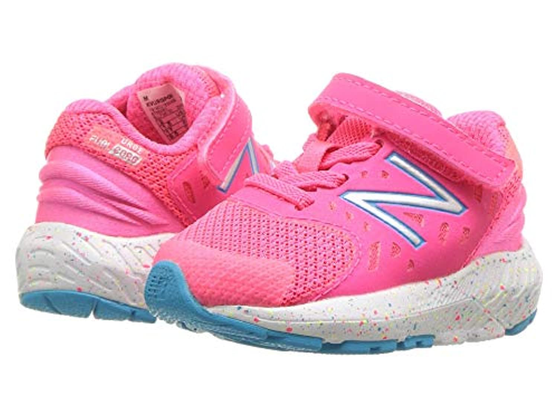 [new balance(ニューバランス)] レディースランニングシューズ?スニーカー?靴 KVURGv2I (Infant/Toddler) Pink Zing/Polaris 4 Toddler (12cm) M