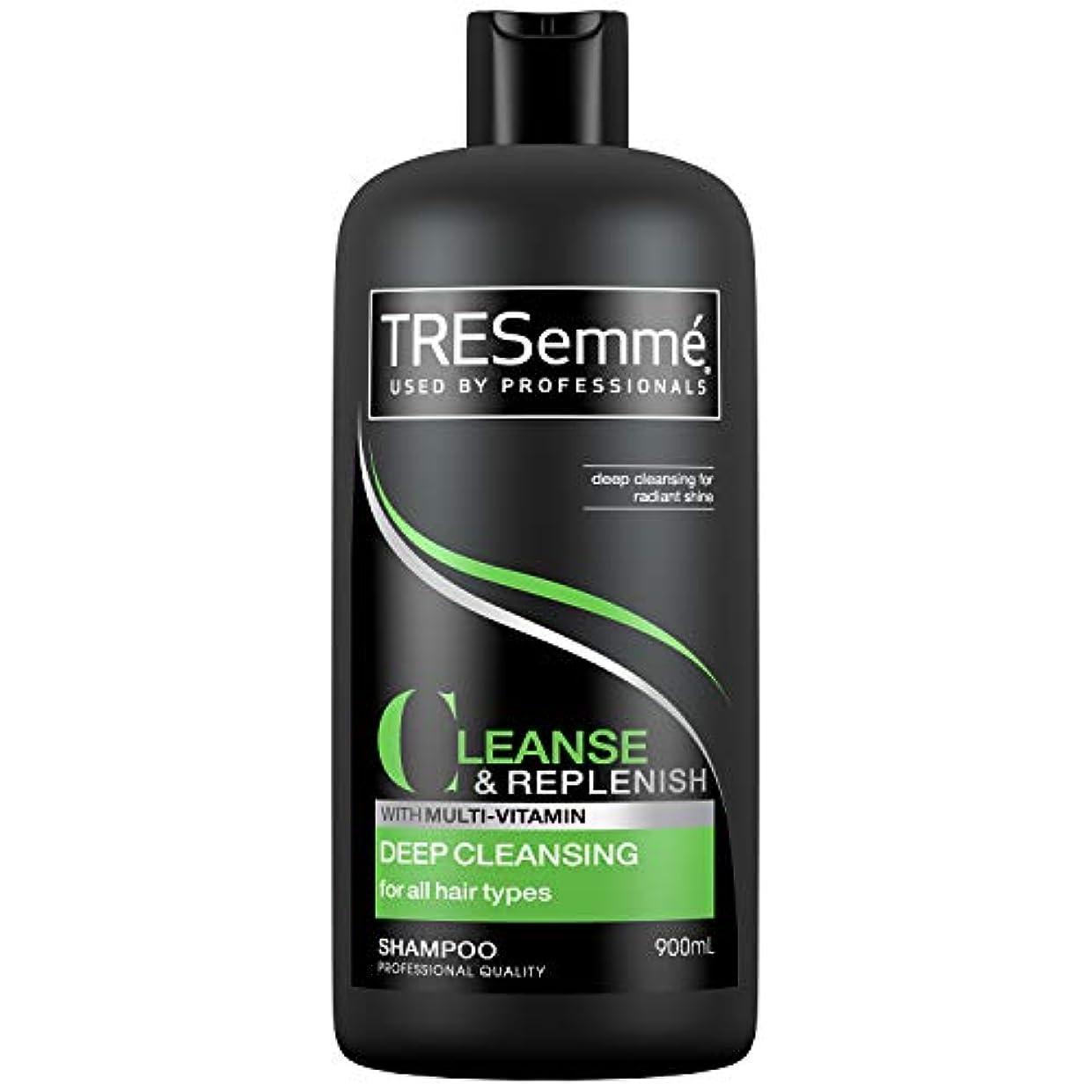 色ガス足Tresemme Deep Cleansing Shampoo 900 ml