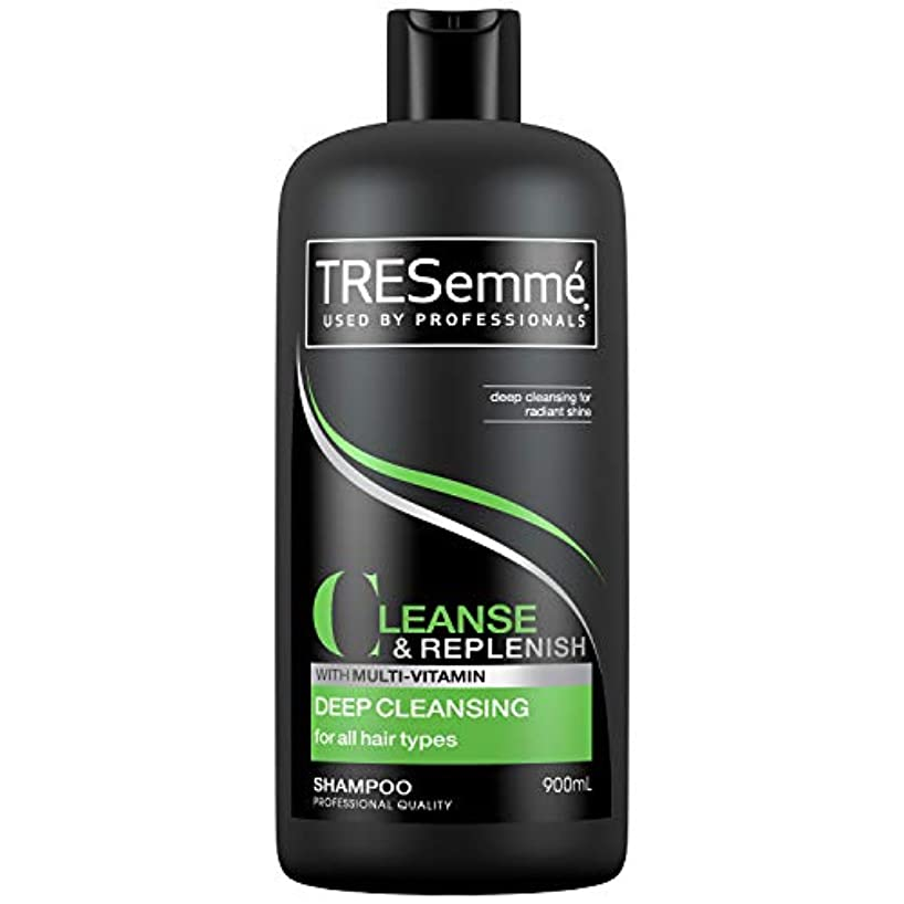 デンマーク淡いクッションTresemme Deep Cleansing Shampoo 900 ml
