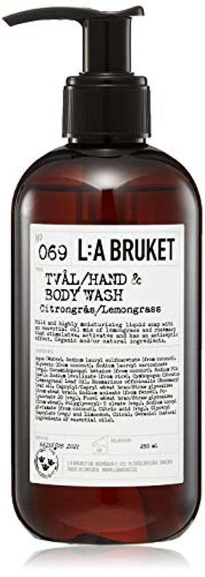 慈善分布映画L:a Bruket (ラ ブルケット) ハンド&ボディウォッシュ (レモングラス) 250g