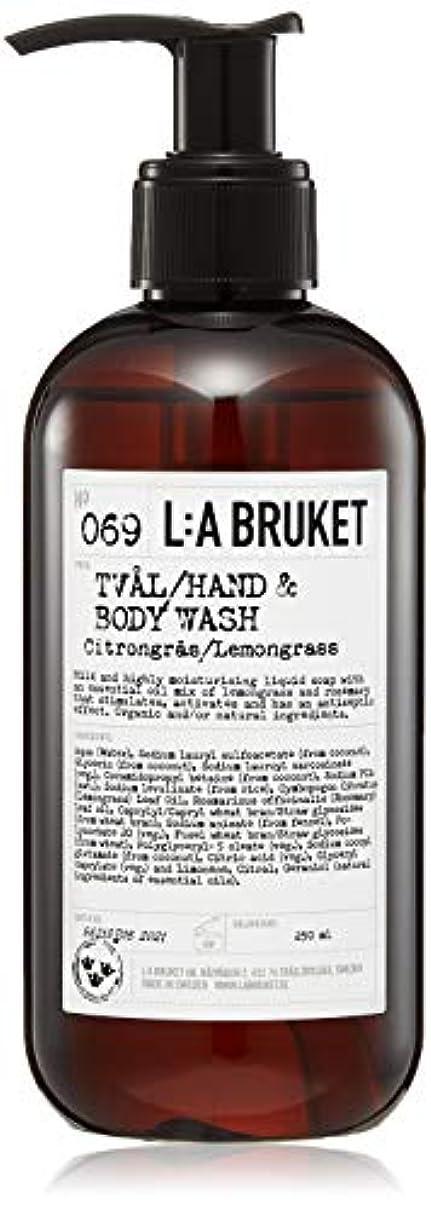 完全に反動個人L:a Bruket (ラ ブルケット) ハンド&ボディウォッシュ (レモングラス) 250g