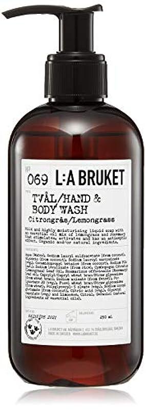ペパーミントカセット詳細にL:a Bruket (ラ ブルケット) ハンド&ボディウォッシュ (レモングラス) 250g