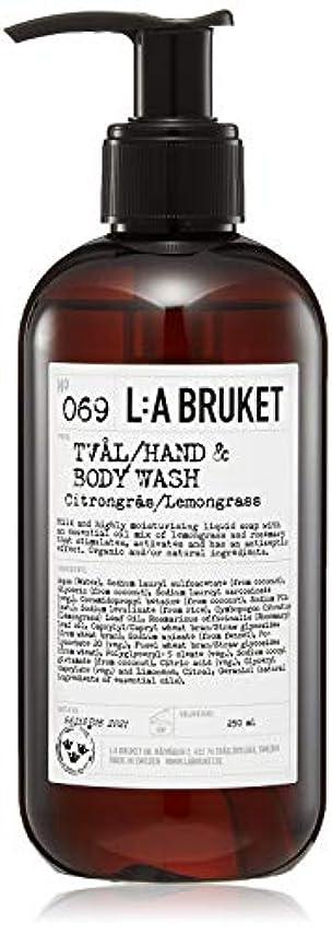 ピーブ原子炉征服L:a Bruket (ラ ブルケット) ハンド&ボディウォッシュ (レモングラス) 250g