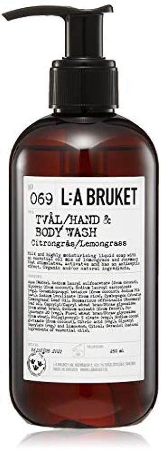 好ましい省略するグラフィックL:a Bruket (ラ ブルケット) ハンド&ボディウォッシュ (レモングラス) 250g