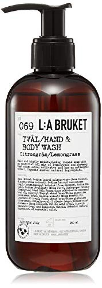 グレー苦花火L:a Bruket (ラ ブルケット) ハンド&ボディウォッシュ (レモングラス) 250g
