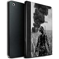 stuff4PU Book/カバーケースfor Apple iPad Mini 1/ 2/ 3タブレット/ Ultimate Fight/Pubgビデオゲーム MR-IPM-TSBS-MD-PUBG-LLS