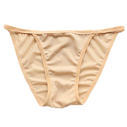 COTARON レディース 水着 用 インナーショーツ アンダーショーツ インナーパンツ ショーツ 透け防止 インナー (M, ベージュ)