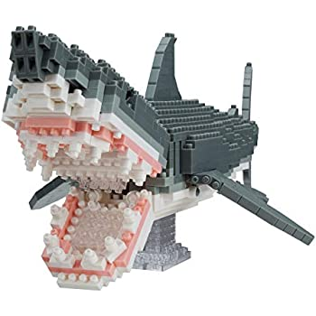 ナノブロック アニマルDX ホホジロザメ NBM-027