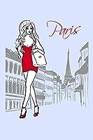 Reisetagebuch | Notizbuch | Journal | Frankreich Paris: Reisetagebuch zum Selberschreiben | Reise Notizbuch | Reise Notebook | Travel Book | Journal- Tagebuchseiten liniert | Stabiles Softcover matt | 6x9 Zoll - A5 mit 108 Seiten weiss