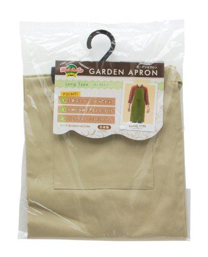 RoomClip商品情報 - 高儀 Verde Garden ガーデンエプロン ロングタイプ ベージュ