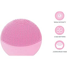 FOREO Luna Play Plus Portable Facial Cleansing Brush, Pearl Pink, 84g