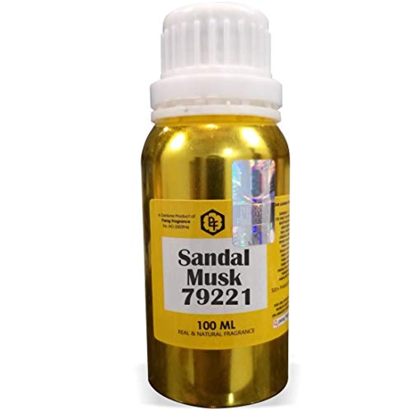 却下する増幅する復讐Paragフレグランスサンダルムスク79221アター100ミリリットル(男性用アルコールフリーアター)香油  香り  ITRA