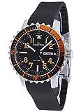 Fortis Gents-腕時計 アクアティス マリンスマスター 曜日/日付 オレンジ アナログ オートマチック 670.19.49 K
