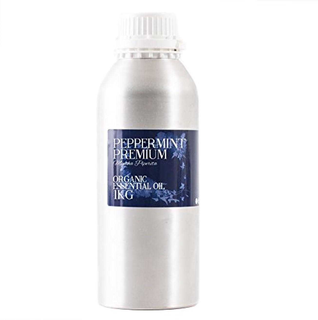 眉をひそめる凝縮する壊滅的なMystic Moments | Peppermint Premium Organic Essential Oil - 1Kg - 100% Pure