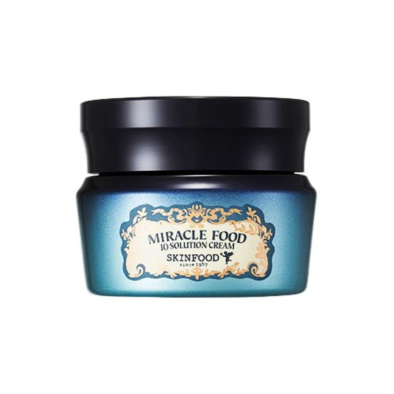鈍いひどく名詞Skinfood ミラクルフード10ソリューションクリーム(美白効果としわ防止効果) / Miracle Food 10 Solution Cream (Skin-Brightening and Anti-Wrinkle...