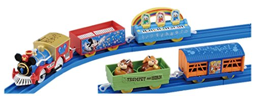 プラレール ディズニードリーム レールウェイ ミッキーマウス&フレンズ ミュージカルパレード 貨車セット