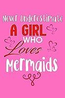 Never Underestimate A Girl Who Loves Mermaids: Prayer Journal Jesus
