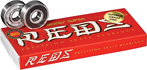 Bones Super Reds Bearings 8 Pack set