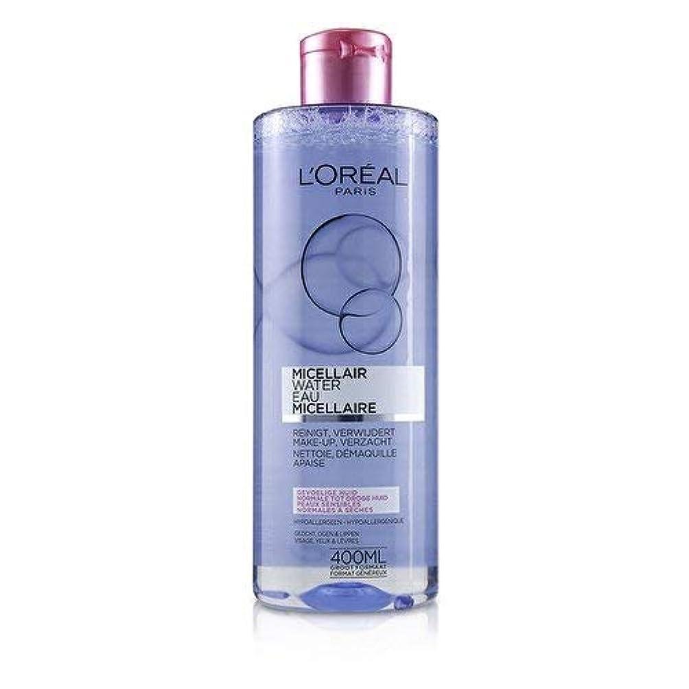 ディンカルビル人事提唱するロレアル Micellar Water - Normal to Dry Skin & Even Sensitive Skin 400ml/13.3oz並行輸入品