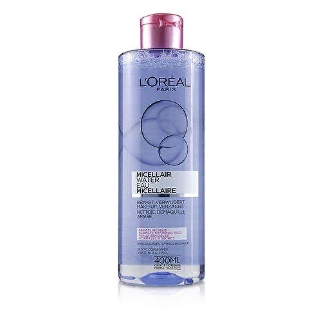 約束する電話をかける装置ロレアル Micellar Water - Normal to Dry Skin & Even Sensitive Skin 400ml/13.3oz並行輸入品