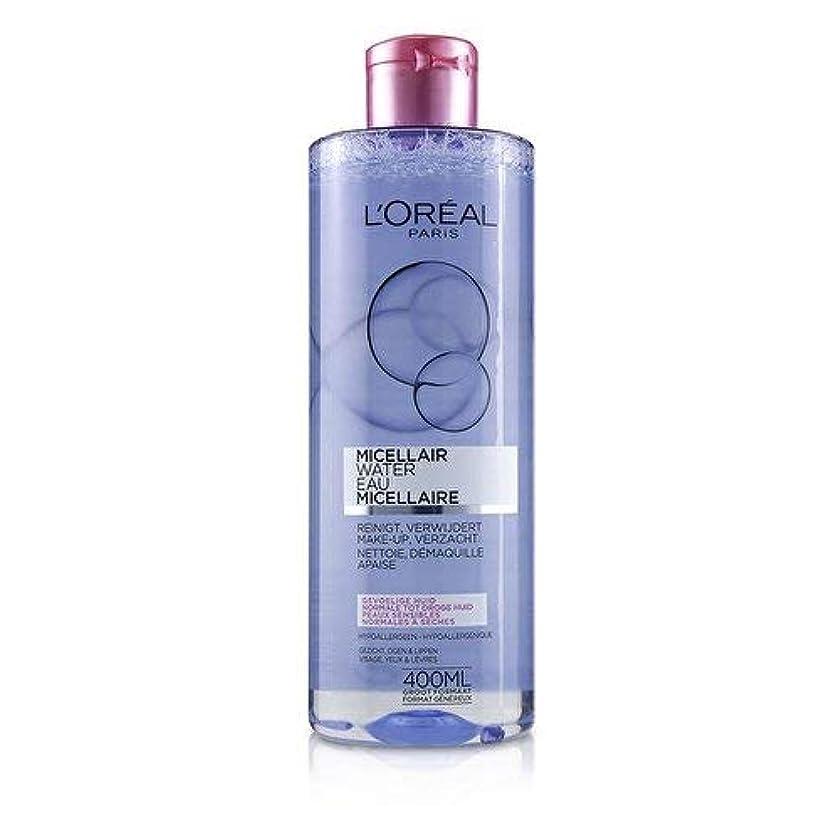 無能持続的地図ロレアル Micellar Water - Normal to Dry Skin & Even Sensitive Skin 400ml/13.3oz並行輸入品