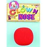 Nose Clown Regular Red Foam (Pack of 12) (並行輸入品)
