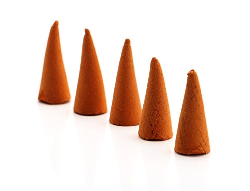 福祉インキュバス和creationtop 40個Incense Conesサンダルウッド ピンク