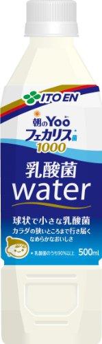 伊藤園 朝のYoo フェカリス菌1000 乳酸菌ウォーター500ml×24本