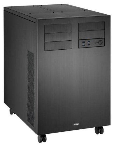 lian-liケースpc-d8000bフルタワーAluminum 3.5インチx20HDD usb3. 0ブラック小売
