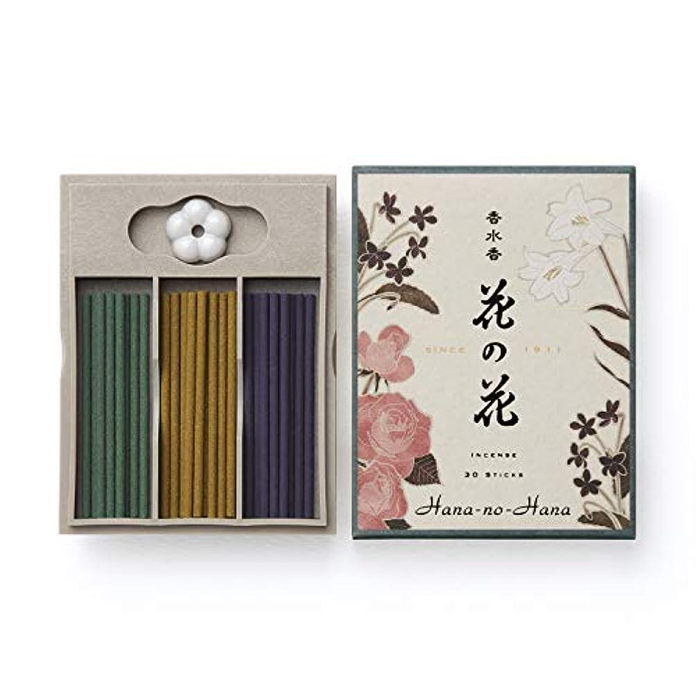 増加する分散宿日本香堂 香水香 花の花 三種入 スティック30本入 ばら?ゆり?すみれ