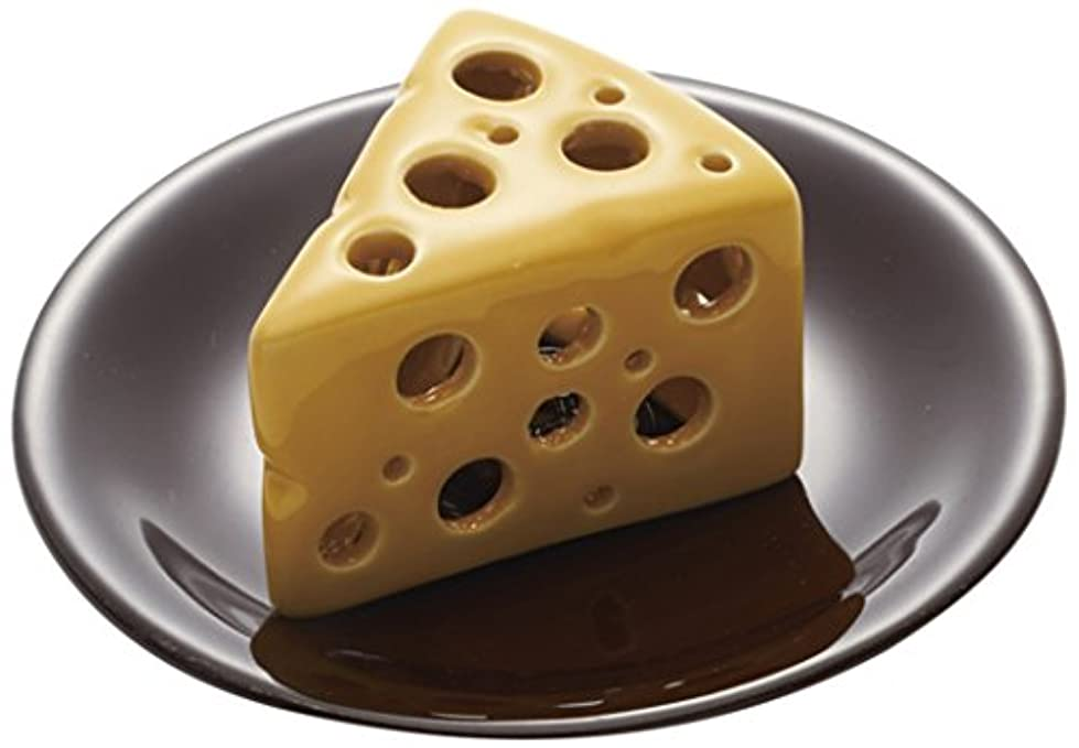 ランデブーガラス世界的にパルマート インセンスバーナー チーズ泥棒 イエロー CHD-IB-01