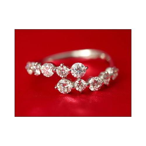 ダイヤモンド リング スイートテンダイヤモンド リング 1.0ct スイートテン スイート10 ダイヤ リング ダイヤモンド リング プラチナ900 プラチナ Pt 指輪 レディース シンプル プラチナ900,10号