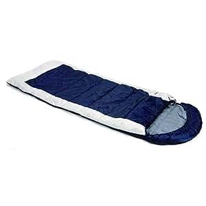 Snugpak(スナグパック) 寝袋 ナビゲーター ネイビー/ホワイト RH [最低使用温度-7度]