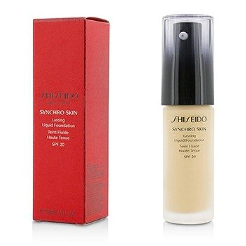 試してみる不十分試してみる[Shiseido] Synchro Skin Lasting Liquid Foundation SPF 20 - Neutral 2 30ml/1oz