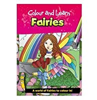 BrainBox Colour and Learn Fairies Kids Arts and Crafts by Brainbox
