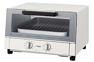 タイガー オーブン トースター ワイド ホワイト やきたて KAM-A130W Tiger