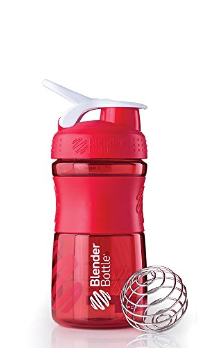 事実上商人人間Blender Bottle(ブレンダーボトル) 【日本正規品】Blender Bottle SportsMixer 20オンス(600ml) BBSM20 RD