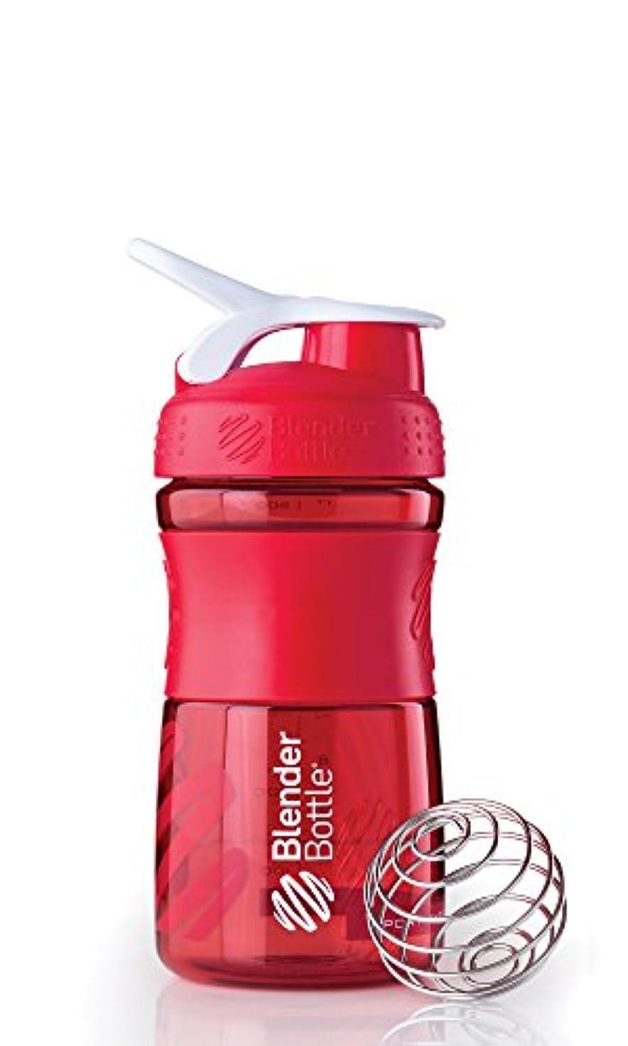どこにも概念どこにもBlender Bottle(ブレンダーボトル) 【日本正規品】Blender Bottle SportsMixer 20オンス(600ml) BBSM20 RD
