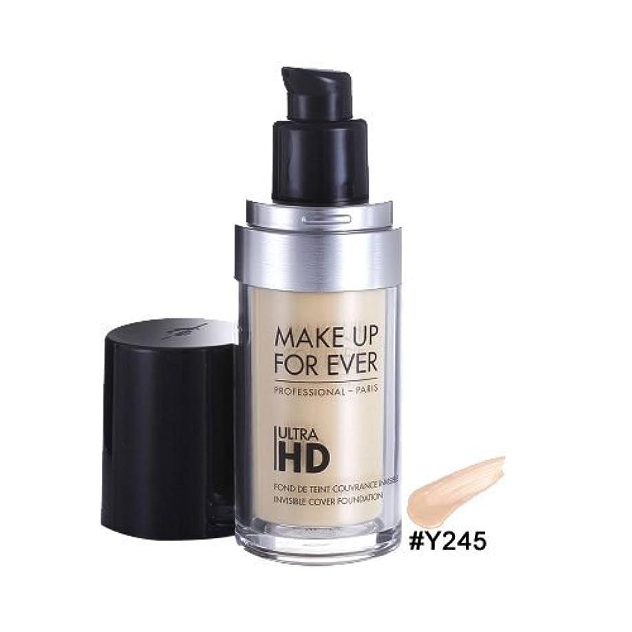 メイクアップフォーエバー(MAKE UP FOREVER) ウルトラ HD ファンデーション #Y245[並行輸入品]