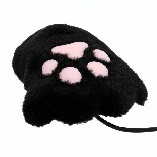 サンコ- USB肉球マウス USCATMBK