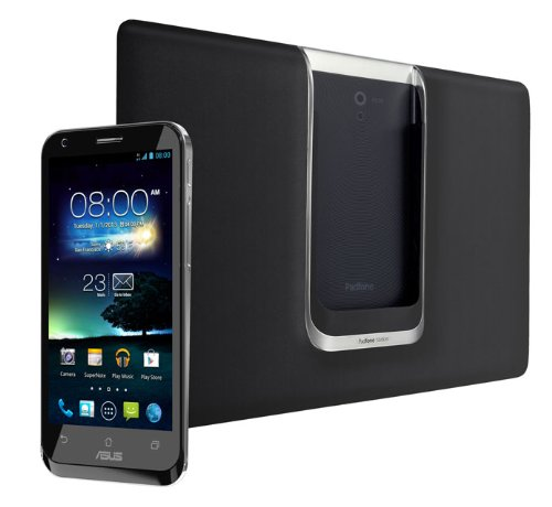 ASUS  PadFone2 ブラック ( Android 4.1 / Qualcomm Snapdragon S4 Pro Krait ( Cortex-A15 class ) プロセッサ ) 90AT0021-M02330