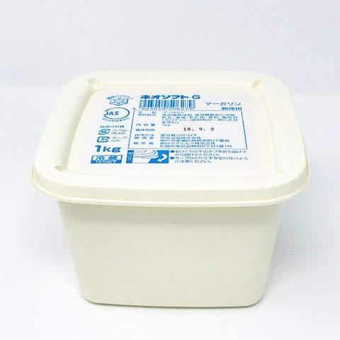 ネオソフトGマーガリン 1kg 【冷凍・冷蔵】 1個