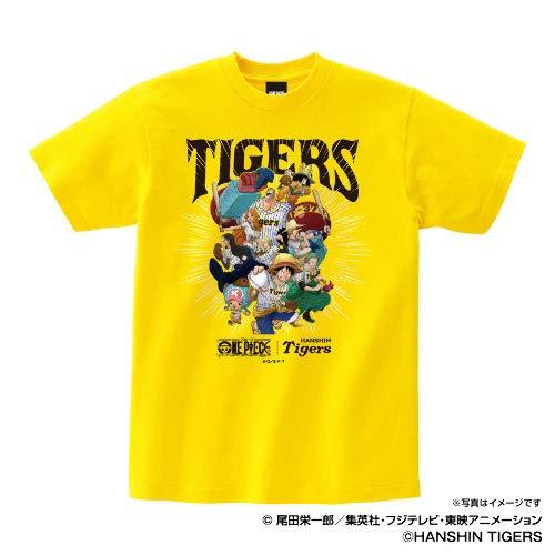 Space Age 阪神タイガース グッズ ワンピース×タイガース Tシャツ (麦わらの一味) (デイジー) - S